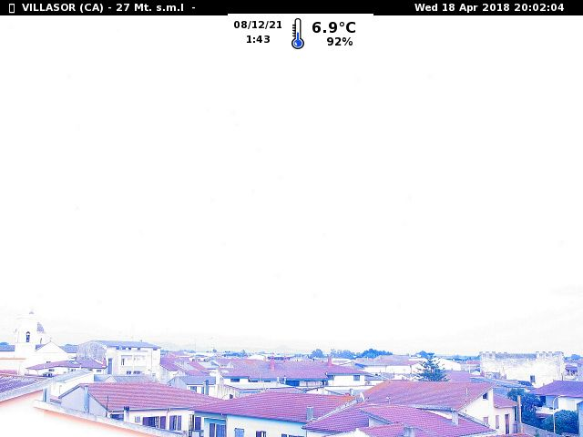 Webcam di Villasor